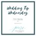 Wedding Tip Wednesday – DIY Bride